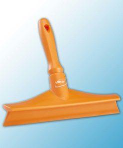 Сверхгигиеничный сгон для столов с мини-ручкой, 245 мм, оранжевый цвет