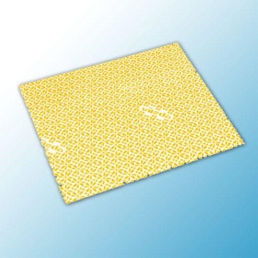 Салфетка ВайПро Антибак 36х42см желтая