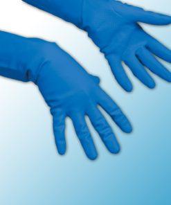 Многоцелевые перчатки голубые