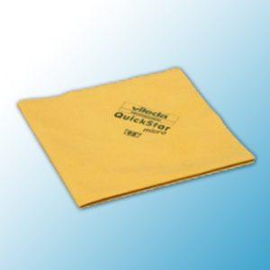 Салфетка КвикСтар микро 38х40см желтая