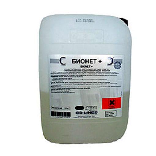 Бионет + (BIONET+), 25кг – нейтральное пенное средство для чувствительных поверхностей