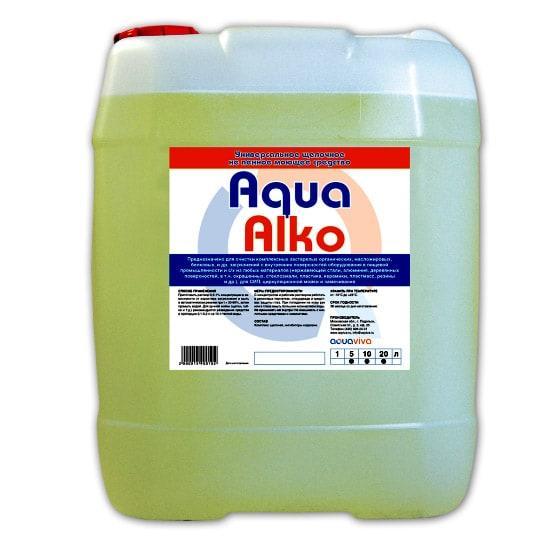 AquaAlko 5л- щелочное не пенное моющее средство