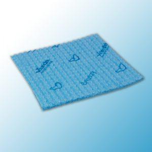 Салфетка Бризи 35,5х35см синяя