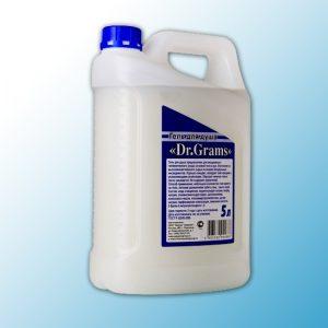 """Гель-мыло для душа с кремом Dr. Grams, """"Освежающий"""" 5л"""
