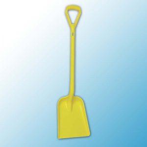 Лопата, 327 x 271 x 50 мм., 1040 мм, желтый цвет