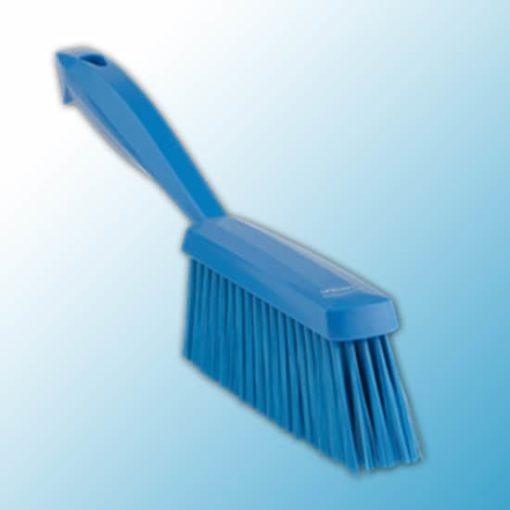 Ручная щетка, 330 мм, мягкий ворс, синий цвет