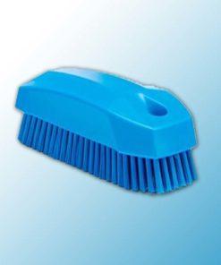 Щетка S для рук / для ногтей, 130 мм, Жесткий, синий цвет