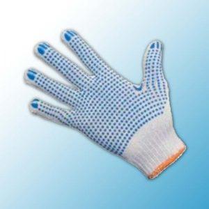 Перчатки хлопчатобумажные ПВХ