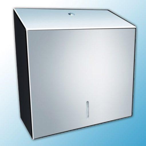 Полотенцедержатель для отдельных бумажных полотенец металлический MERIDA STELLA MAXI (полированный)