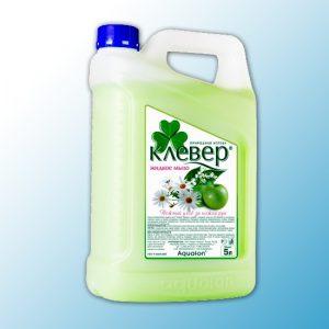 """Жидкое мыло Клевер перламутровое """"Яблоко"""" 5 л"""