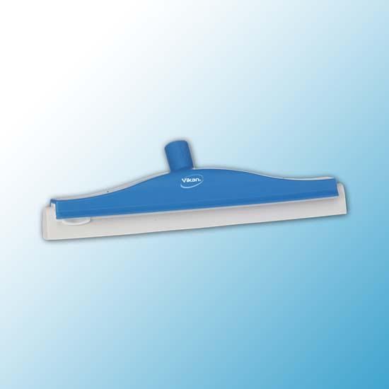 Классический сгон для пола с подвижным креплением, сменная кассета, 400 мм, синий цвет