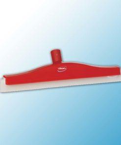 Классический сгон для пола с подвижным креплением, сменная кассета, 400 мм, красный цвет