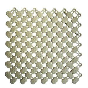 Lagune (grey) - Модульное противоскользящее покрытие, цвет серый