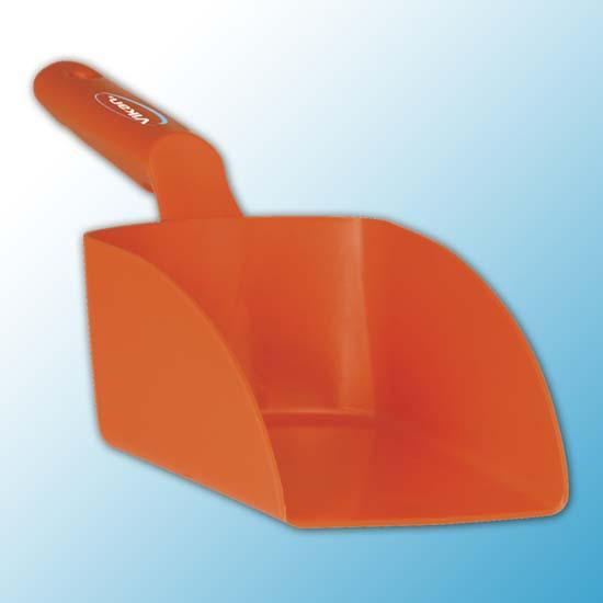 Совок ручной средний, 1 л, оранжевый цвет