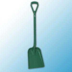 Лопата, 327 x 271 x 50 мм., 1040 мм, зеленый цвет