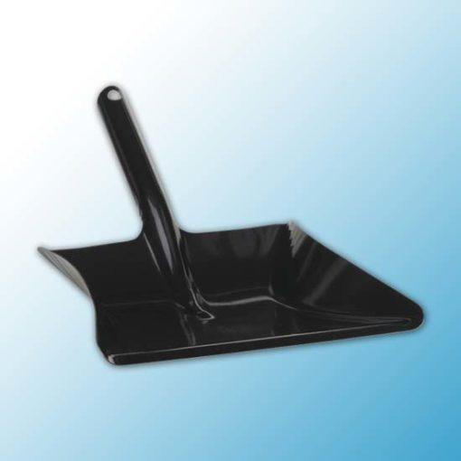 Совок для мусора металлический, 245 мм, черный цвет