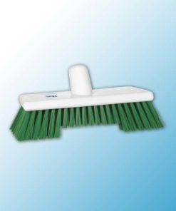 Щетка скребковая поломойная с ворсом двух длин, 245 мм, Жесткий, зеленый цвет