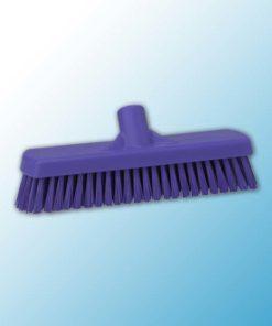 Щетка для мытья полов и стен, 305 мм, Жесткий, фиолетовый цвет
