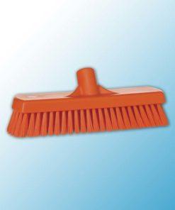 Щетка для мытья полов и стен, 305 мм, Жесткий, оранжевый цвет