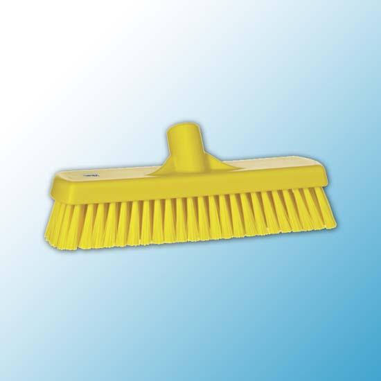 Щетка для мытья полов и стен, 305 мм, Жесткий, желтый цвет