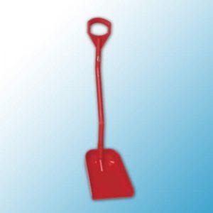 Эргономичная лопата, 340 x 270 x 75 мм., 1110 мм, красный цвет