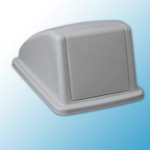 Пластиковая крышка от корзины для сортировки отходов