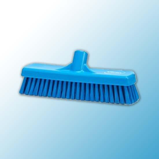 Щетка для мытья полов и стен, 305 мм, Жесткий, синий цвет
