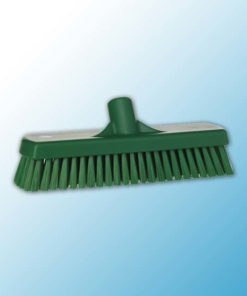 Щетка для мытья полов и стен, 305 мм, Жесткий, зеленый цвет