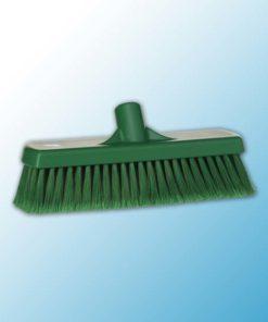 Щетка для подметания, 300 мм, Мягкий/ расщепленный, зеленый цвет