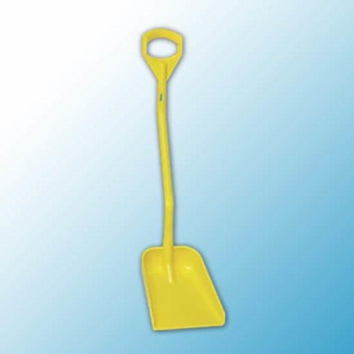 Эргономичная лопата, 340 x 270 x 75 мм., 1110 мм, желтый цвет