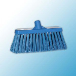Щетка для подметания сверхпрочная, 330 мм, Очень жесткий, синий цвет