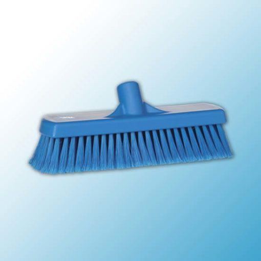 Щетка для подметания, 300 мм, Мягкий/ расщепленный, синий цвет