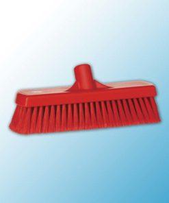 Щетка для подметания, 300 мм, Мягкий/ расщепленный, красный цвет
