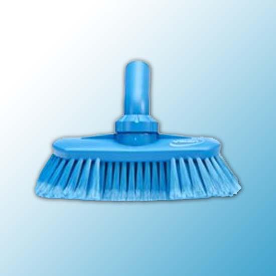 Щетка с подвижным креплением и подачей воды, 240 мм, Мягкий/ расщепленный, синий цвет