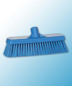 Щетка для подметания, 300 мм, средний ворс, синий цвет