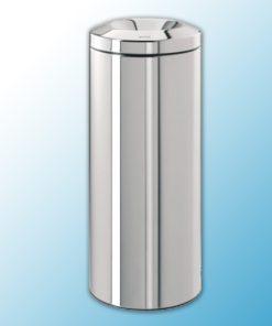 Корзина-пепельница напольная полированная самогасящаяся (20л)
