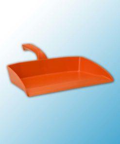Совок для мусора, 330 мм, оранжевый цвет