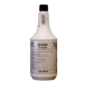 Д-Клин (D-CLEAN), 1л – средство для ручной мойки посуды