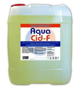 AquaCid-F 5л- кислотное пенное моющее средство