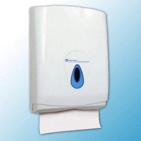 """Кассета-полотенцедержатель для отдельных бумажных полотенец """"MAXI MERIDA TOP""""(синяя капля)"""
