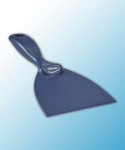 Ручной скребок, металлодетектируемый, 102 мм, металлизированный синий цвет