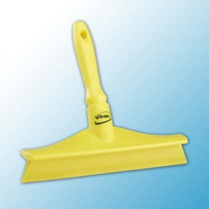 Сверхгигиеничный сгон для столов с мини-ручкой, 245 мм, желтый цвет