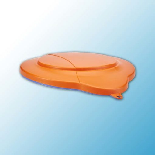 Крышка для ведра, 12 л, оранжевый цвет