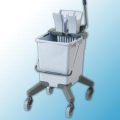 УльтраСпид Про: одноведерная система, 25 л на колесах, без транспортировочной ручки