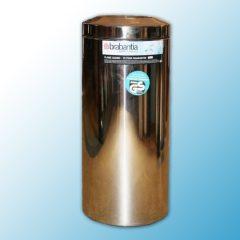 Корзина-пепельница напольная полированная самогасящаяся (30л)