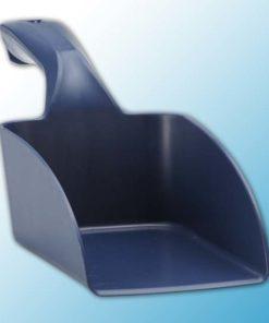 Совок ручной металлопластик, 0,5 л, металлизированный синий цвет
