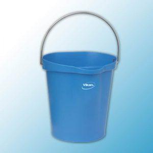 Ведро,12 л, синий цвет