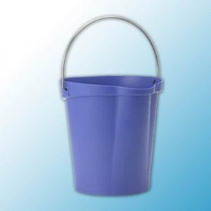 Ведро,12 л, фиолетовый цвет
