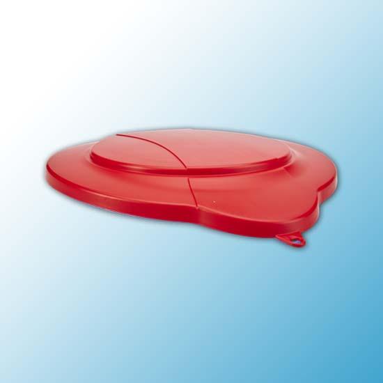 Крышка для ведра, 12 л, красный цвет