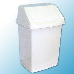 Корзина пластиковая с поворотной крышкой (9 л.)
